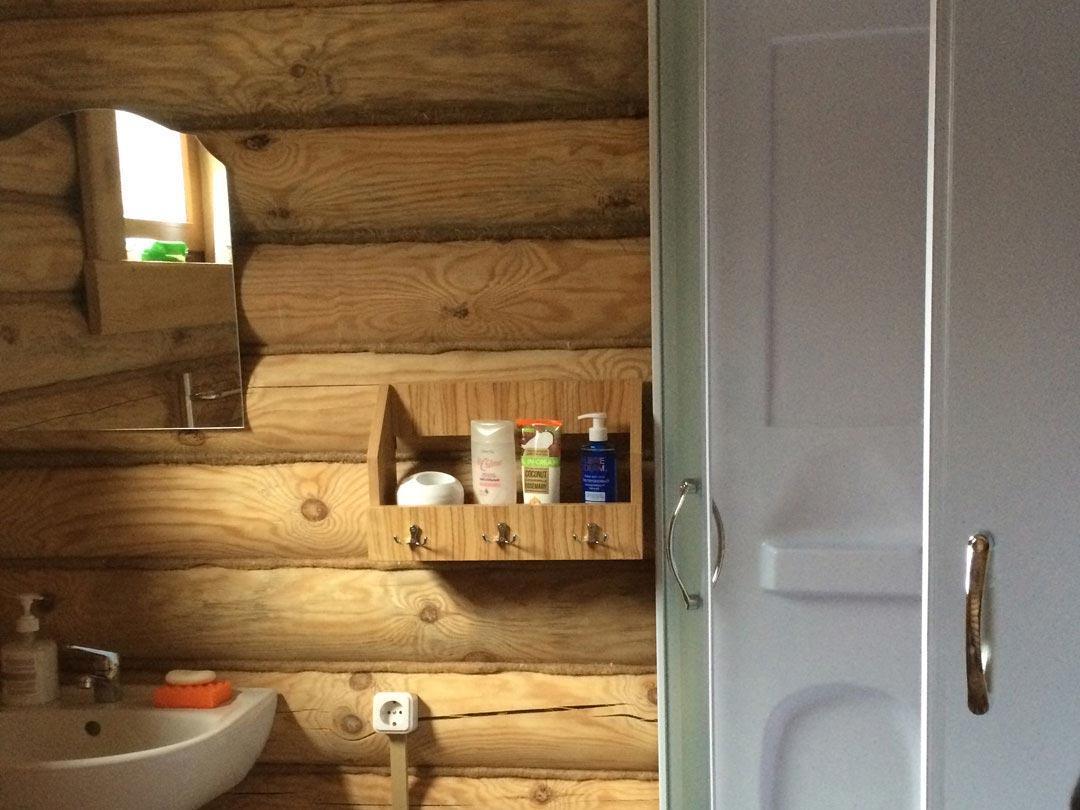 Ванная комната левой большой спальни