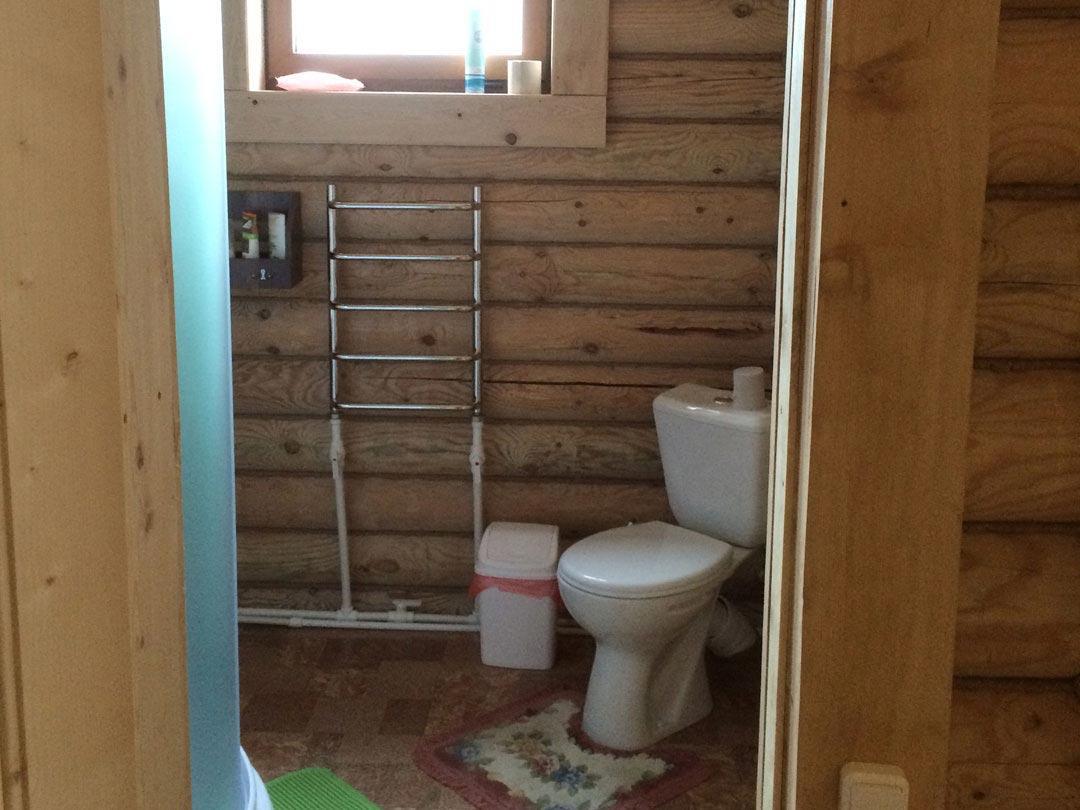 Малая спальня - туалет